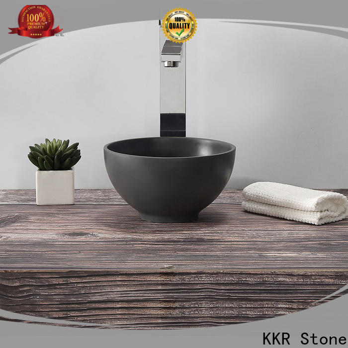KKR Stone corian vanity tops in special shapes for kitchen tops