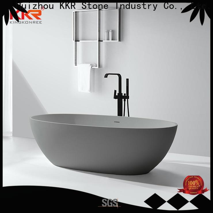 KKR Stone bathtub producer for home