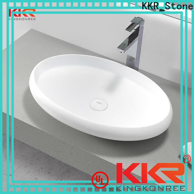 KKR Stone undermount kitchen sink in good performance for kitchen tops