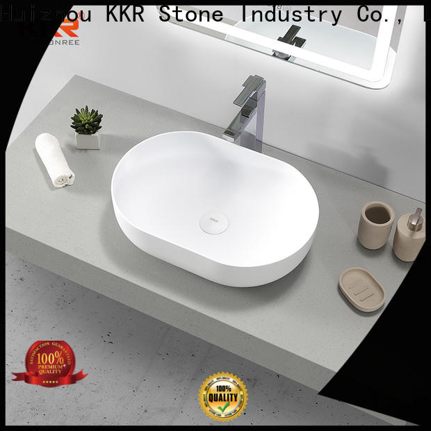 KKR Stone lassic style corian basin in good performance for table tops