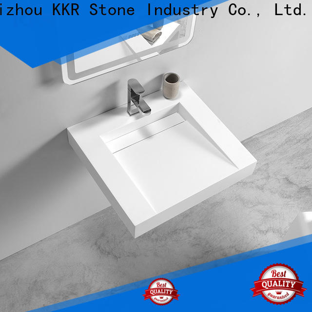 KKR Stone high tenacity corian vanity tops supply for home