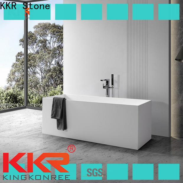 KKR Stone free standing bath tubs manufacturer for building