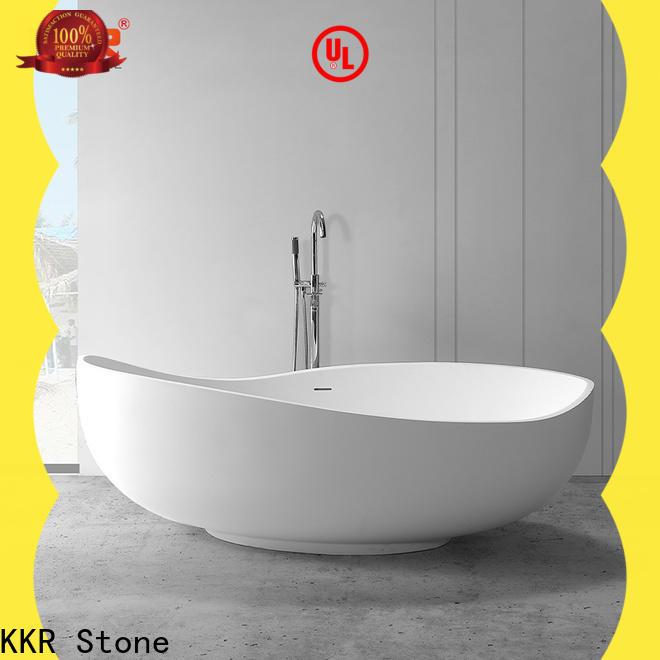 KKR Stone walk in bathtub factory price for school building