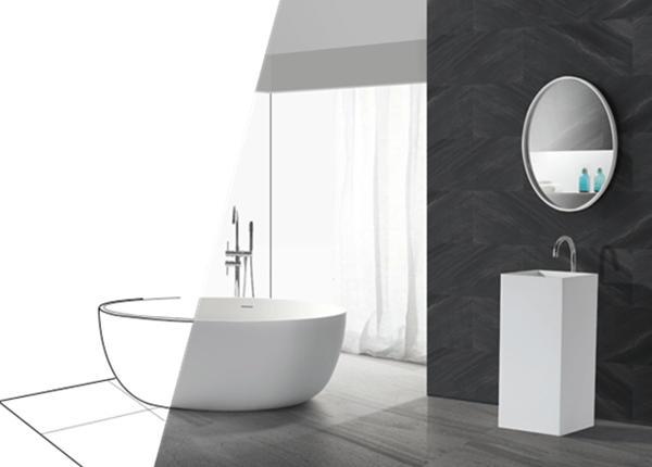 corian sinks company, solid surface wash basin, kingkonree wash basin