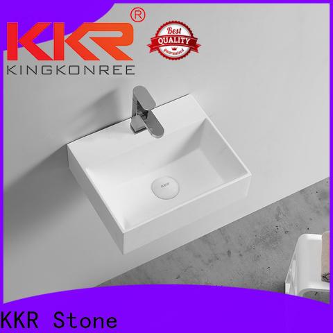 KKR Stone high tenacity small bathroom sink custom-design for home