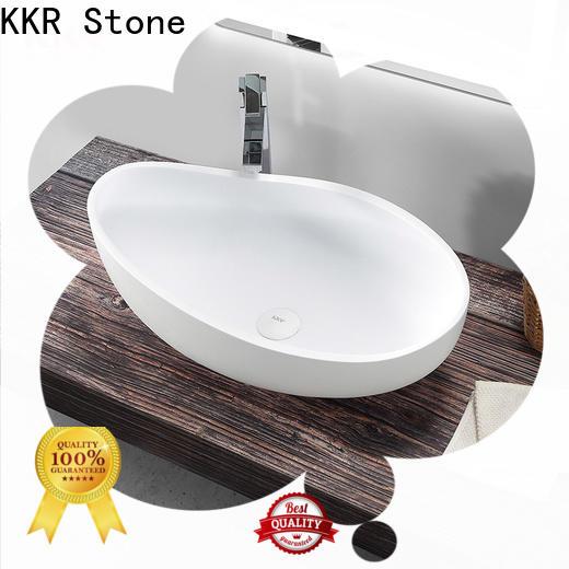 KKR Stone undermount bathroom sink bulk production for home