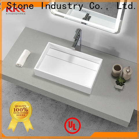 KKR Stone modern corian sink vendor for home