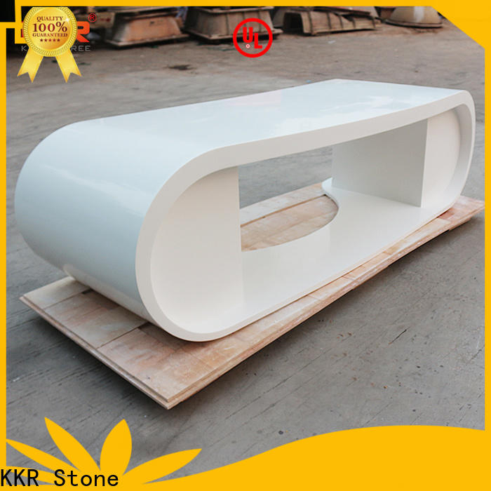 KKR Stone modern solid surface desk widely-use for table tops