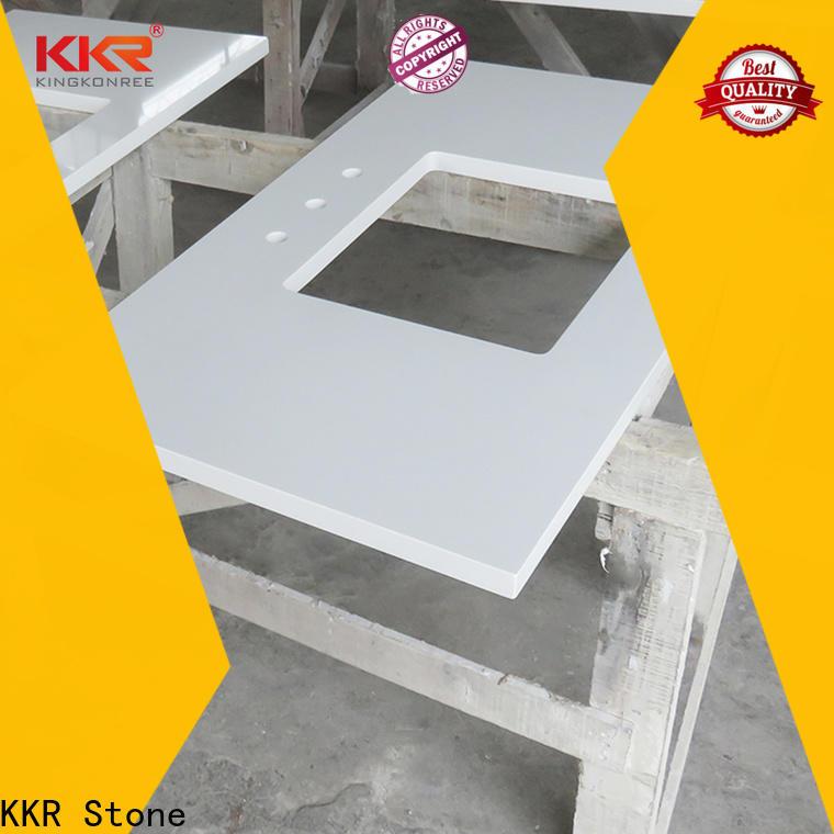artificial vanity top bathroom design China for worktops