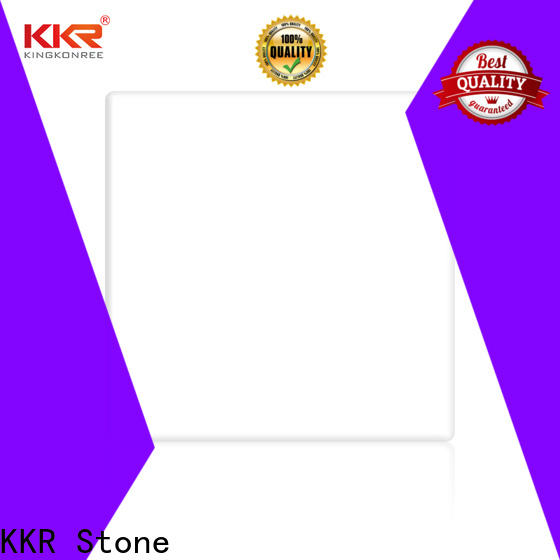 artificial Stone acrylic solid surface sheets small wholesale for shoolbuilding