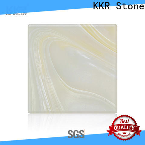 light weight translucent solid surface material sales factory price for school building