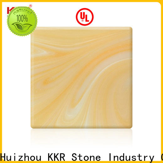 KKR Stone light weight translucent stone panel at discount for early education