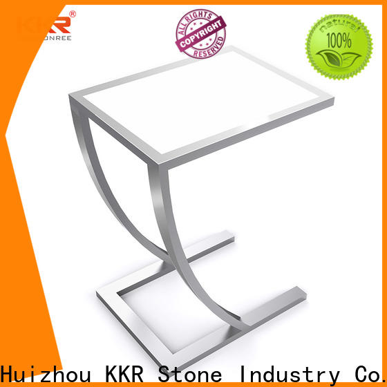 solid surface bar tops table