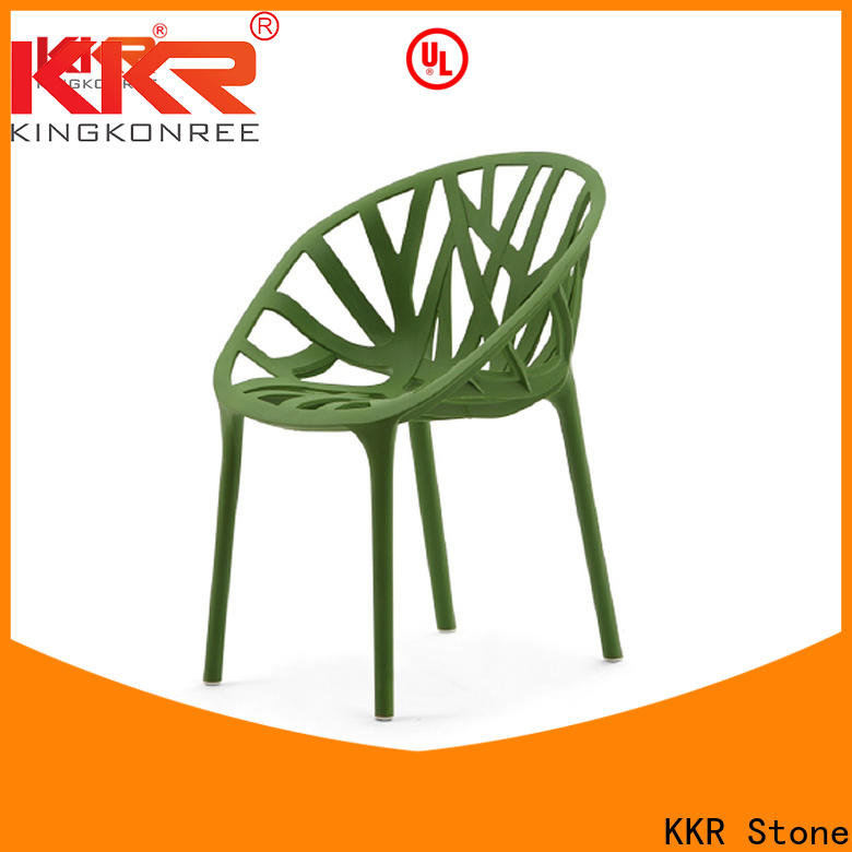 KKR Stone easily repairable buy plastic chairs price for school