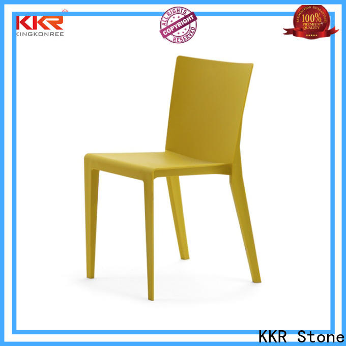 KKR Stone Warm touch buy plastic chairs owner
