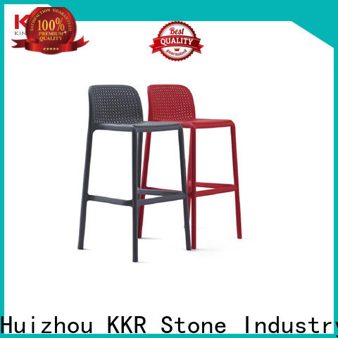 KKR Stone popular plastic chairs manufacturers long-term-use
