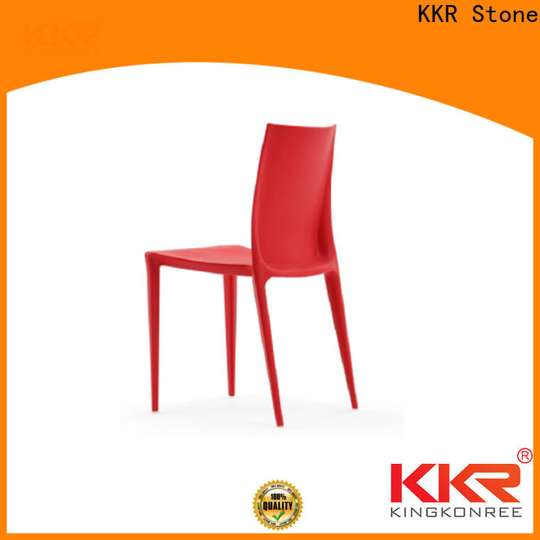 KKR Stone rest buy plastic chairs for kitchen