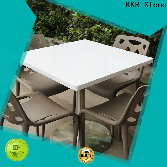 KKR Stone acrylic acrylic solid surface table tops