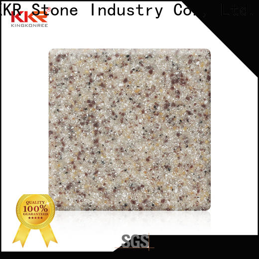 KKR Stone newly solid surface factory superior stain for worktops
