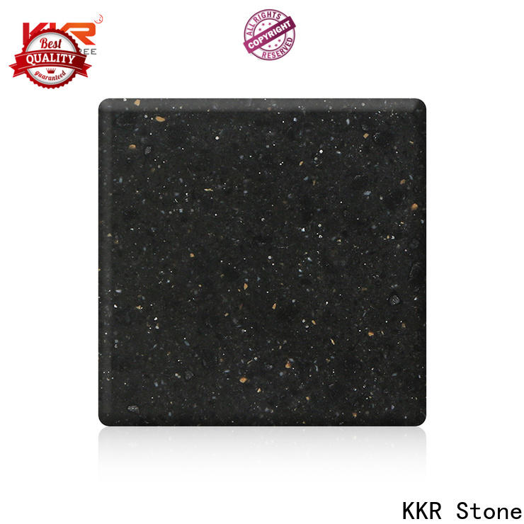 KKR Stone anti-pollution modified acrylic solid surface superior stain for self-taught