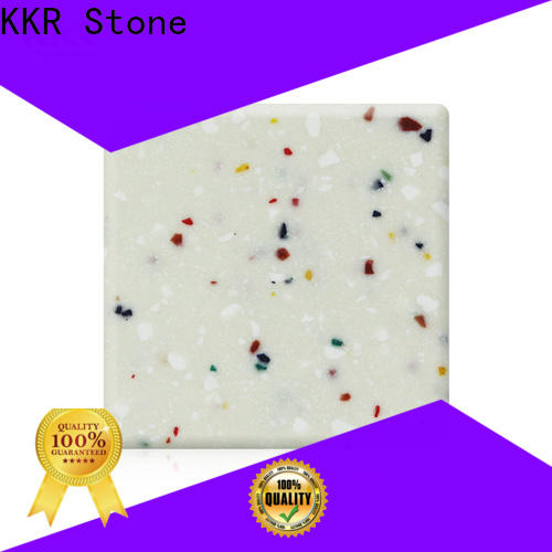 KKR Stone festival modified acrylic solid surface superior stain for kitchen tops
