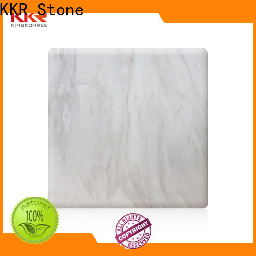 KKR Stone arycli solid surface slab effectively for building
