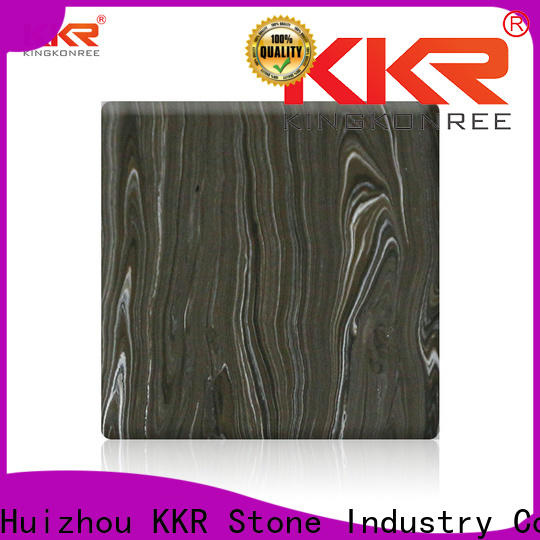 KKR Stone artificial marble solid surface factory for school building