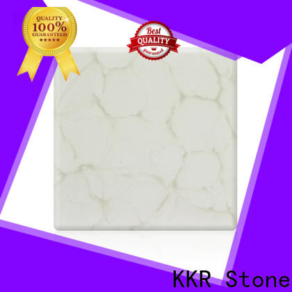 KKR Stone surface translucent stone panel at discount for garden table