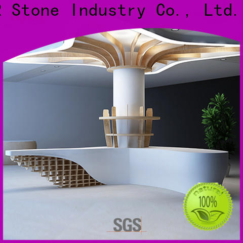 KKR Stone design reception desk countertop custom-design for home