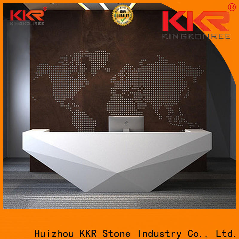 KKR Stone simple acrylic solid surface worktops free design for worktops
