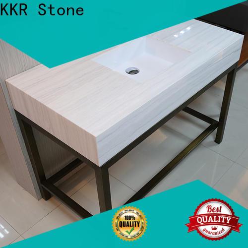 KKR Stone pattern bathroom countertops supply for worktops