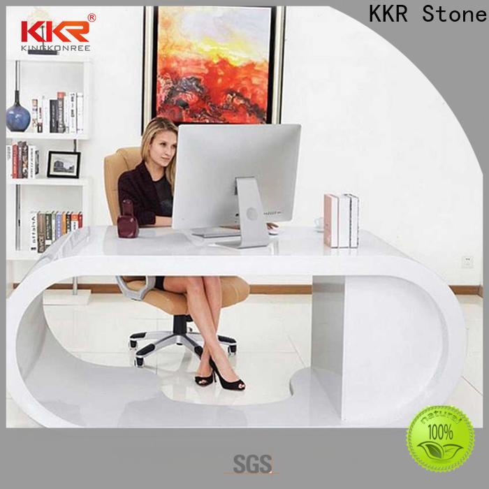 modern reception desk countertop custommade certifications for entertainment