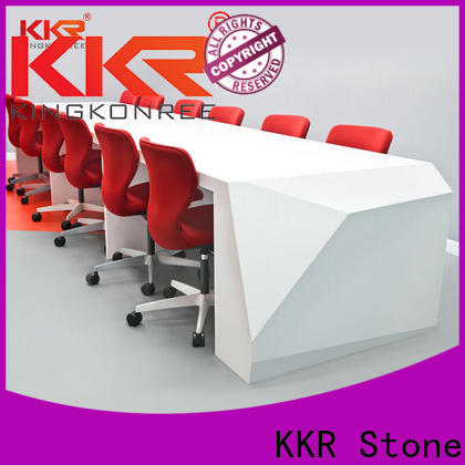 customize solid surface reception desk bar order now for kitchen tops