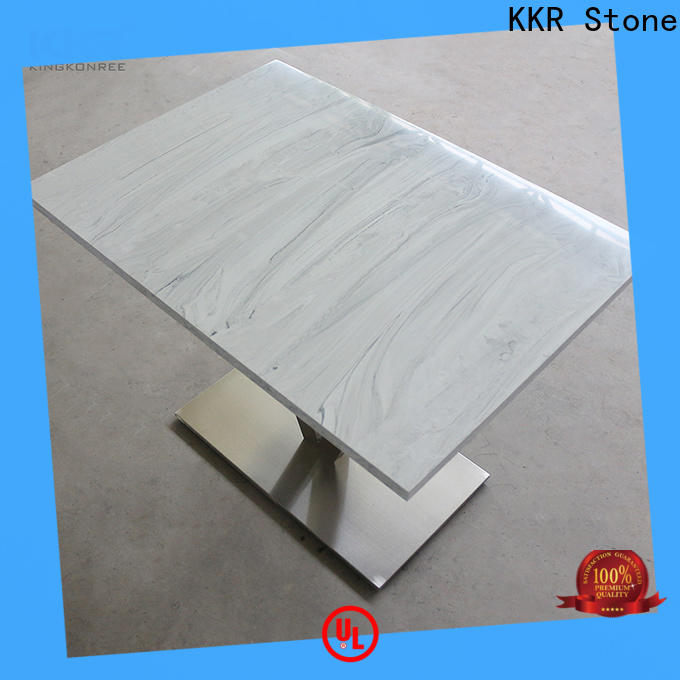 KKR Stone surface artificial marble dining table
