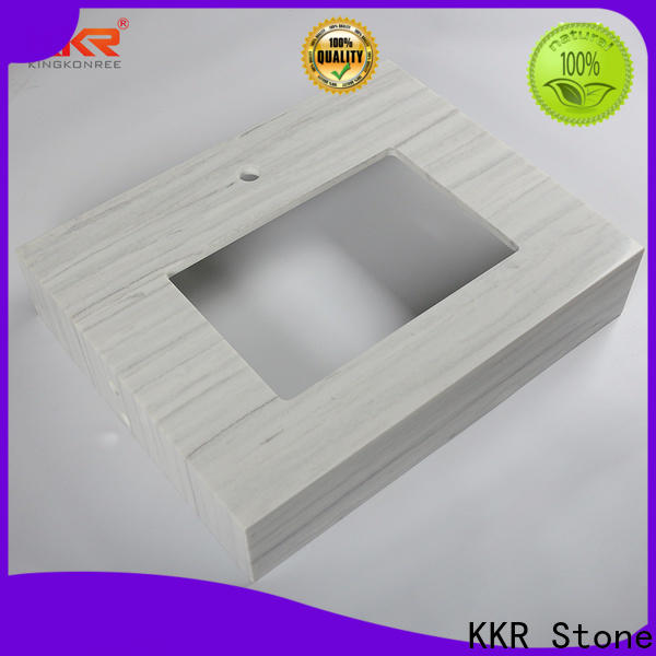 custom-made acrylic solid surface countertops top supplier for early education