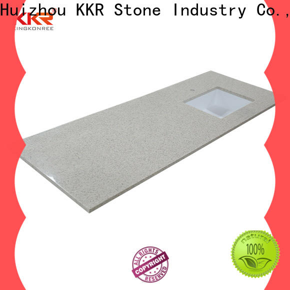 good Quality solid surface countertop artificial certifications for entertainment
