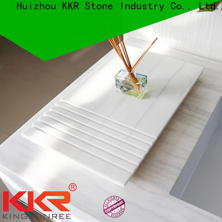 KKR Stone double Sink bathroom wall shelves buy now for living room