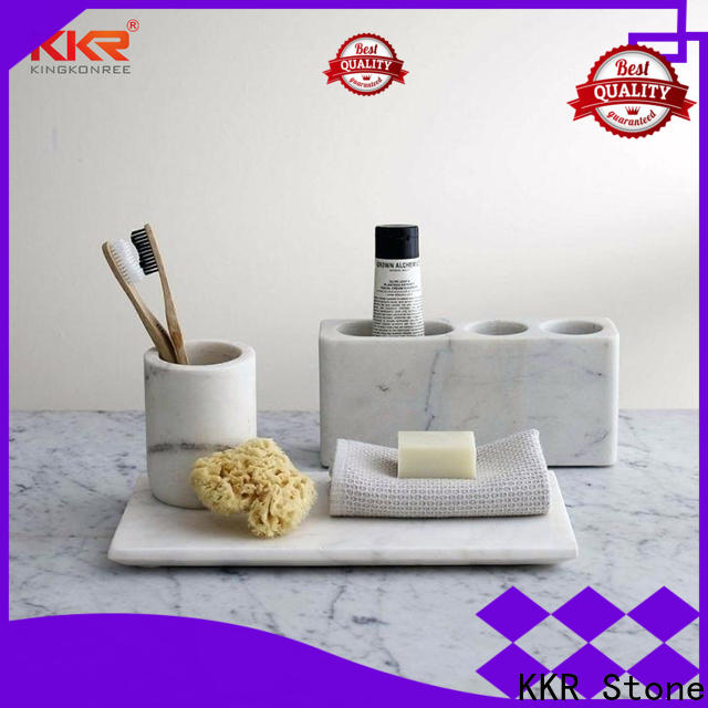 KKR Stone towel rack shelf in different shape for home