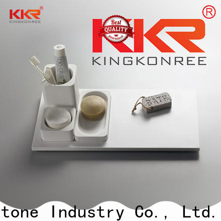 KKR Stone good Quality bathroom wall shelves for hotel