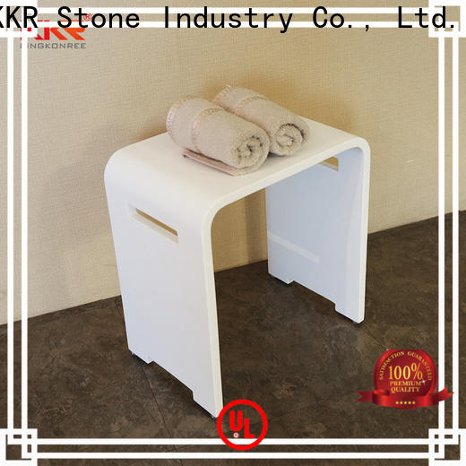 KKR Stone clear wall shelves wholesale for home