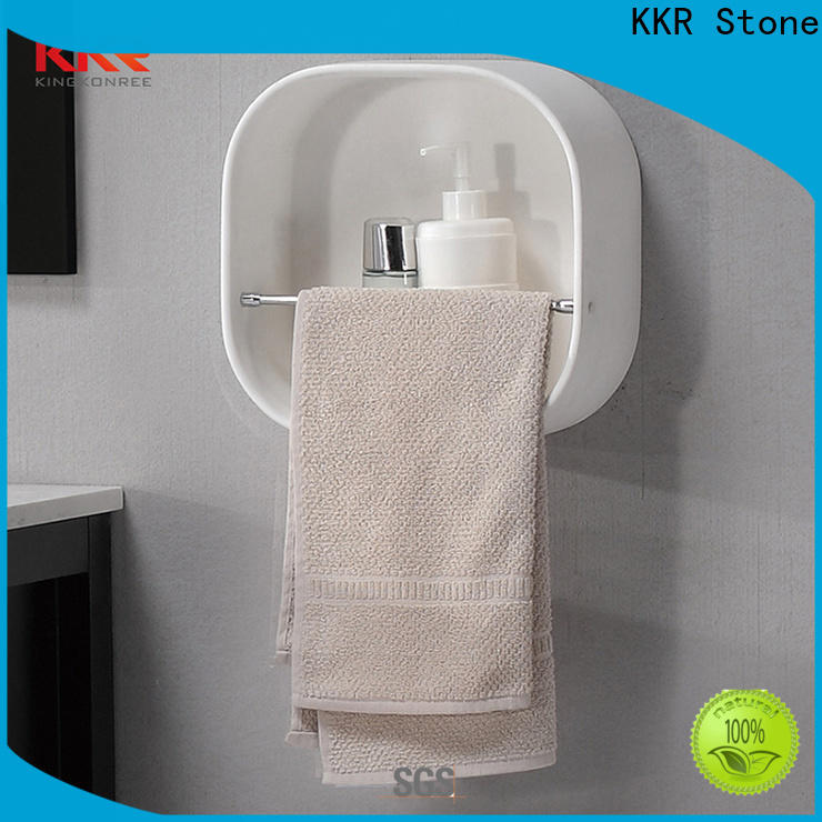 KKR Stone solid Surface acrylic vanity chair in different shape for hotel