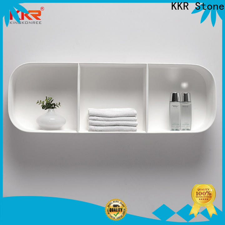 KKR Stone solid Surface towel rack shelf for home