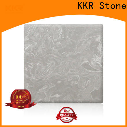 pollution free veining pattern solid surface marble  manufacturer for school building