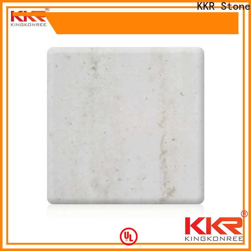 KKR Stone marble veining pattern solid surface wholesale furniture set