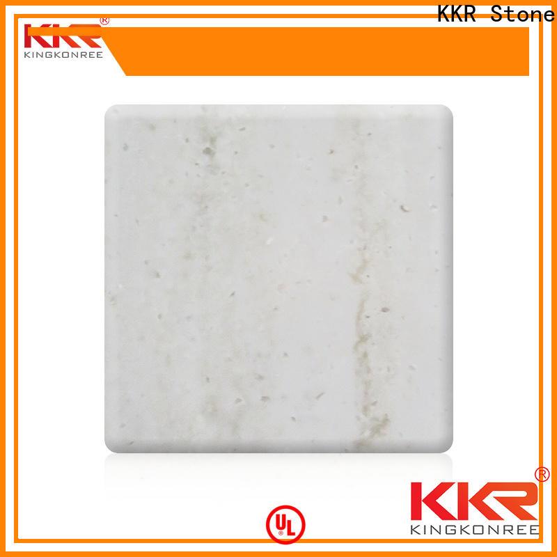 KKR Stone marble veining pattern solid surface wholesale furniture set