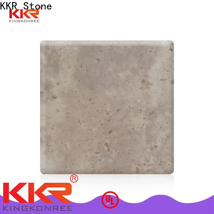 KKR Stone texture veining pattern solid surface furniture set