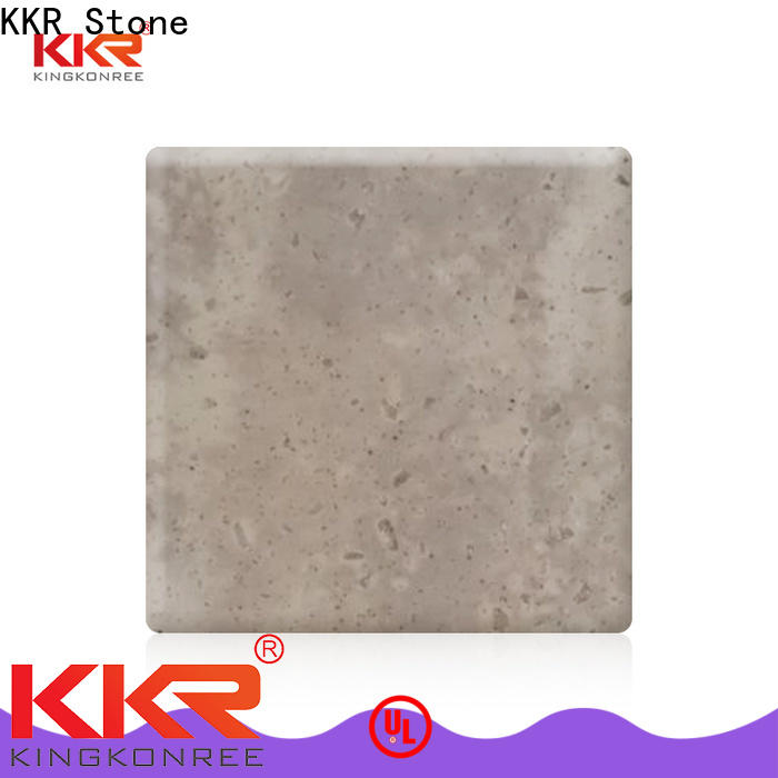 KKR Stone texture veining pattern solid surface furniture set