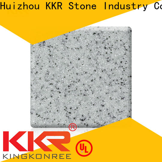 hot-sale solid surface factory black superior chemical resistance for worktops
