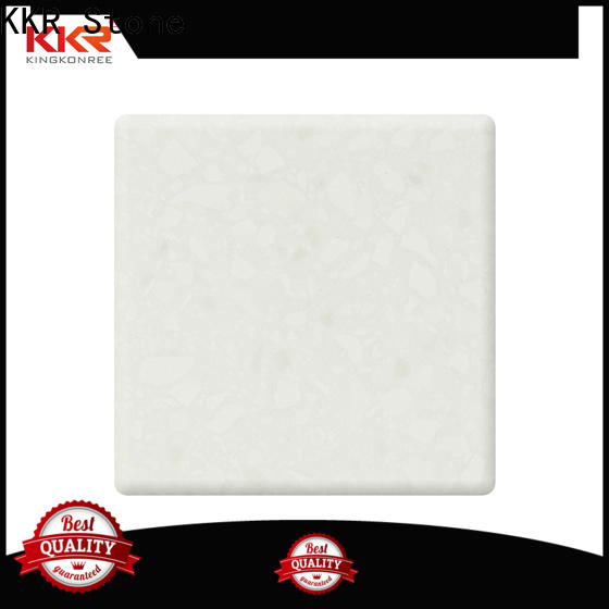 KKR Stone sheets solid surface free design for kitchen tops