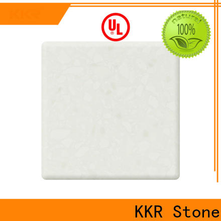 KKR Stone length modified acrylic solid surface superior bacteria for table tops